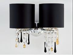Lampada da parete a luce indiretta con cristalliGLAMOUR   Lampada da parete con cristalli - AIARDINI ILLUMINAZIONE