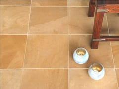 Pavimento/rivestimento in pietra naturale per interniINDUS GOLD HONED LIMESTONE - STONE AGE PVT. LTD.