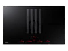Piano cottura a induzione da incasso con cappa aspiranteINFINITE LINE NZ84T9747UK/UR - SAMSUNG ELECTRONICS ITALIA