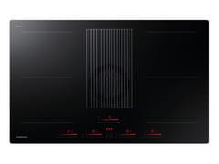 Piano cottura a induzione con cappa filtranteINFINITE LINE NZ84T9747VK/UR - SAMSUNG ELECTRONICS ITALIA