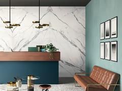 CERAMICA FONDOVALLE, INFINITO 2.0 STATUARIO EXTRA Pavimento/rivestimento in gres porcellanato effetto marmo