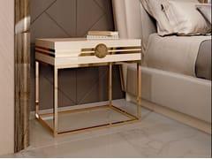 Comodino in legno con cassettiINFINITY | Comodino - BIZZOTTO
