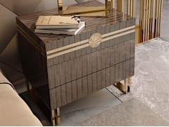 Comodino in legno con cassettiINFINITY | Comodino con cassetti - BIZZOTTO