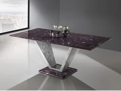 Tavolo rettangolare in Crystal Stone®INFINITY | Tavolo in Crystal Stone® - BALLARINI