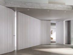 Boiserie / porta in legno INFINITY STRIP - Synthesi
