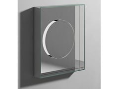Rexa Design, INSIDE Specchio rettangolare con contenitore da parete