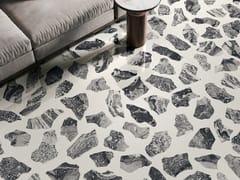 CERAMICA SANT'AGOSTINO, INSIDEART PALLADIAN MOON Pavimento/rivestimento in gres porcellanato effetto terrazzo veneziano