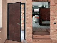 Pannello di rivestimento per porte blindateINTARSIO - ALIAS SECURITY DOORS
