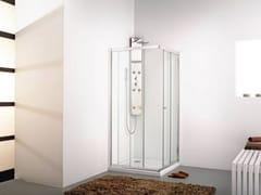 KRION, INTER 4 Box doccia angolare in vetro