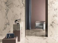 CERAMICHE KEOPE, INTERNO4 CALACATTA SAN BABILA Pavimento/rivestimento in gres porcellanato effetto marmo