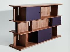 Libreria a giorno in legno masselloINTERSECTION | Libreria - LA MANUFACTURE