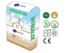Bio-rasante eco-compatibile a base di calce idraulica naturaINTOCALCE CAM RAS - MALVIN