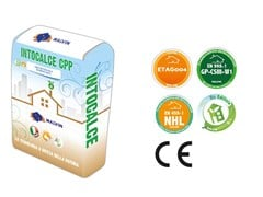 malvin, INTOCALCE CPP Bio-adesivo e bio-rasante minerale eco-compatibile