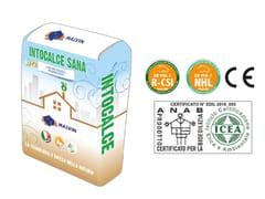 malvin, INTOCALCE SANA Bio-intonaco eco-compatibile macroporoso