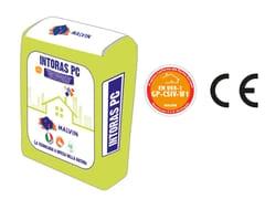Rasante alleggerito a base di speciali leganti idrauliciINTORAS PC - MALVIN