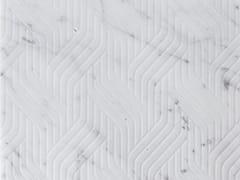 Pavimento/rivestimento in marmoINTRECCI CARRARA - TWS - TIPICAL WORLD STONE