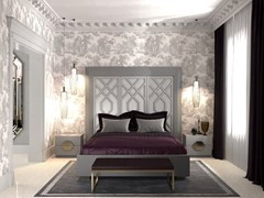 Letto matrimoniale con testiera alta INTRIGUE | Letto matrimoniale - Intrigue
