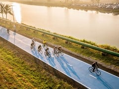 Pavimentazione sportiva per piste ciclabiliIPM FREETIME - IPM ITALIA