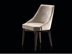Sedia in tessuto con base in FaggioIS - A | Sedia - H-07