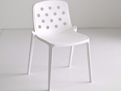 Sedia impilabile in tecnopolimero ISIDORA | Sedia -