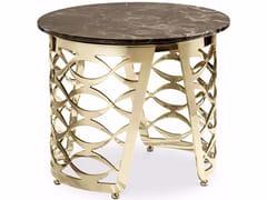 Tavolino rotondo in marmo da salottoISIDORO | Tavolino rotondo - CANTORI
