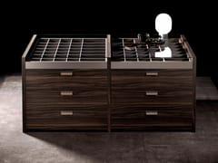 Cassettiera in legnoISOLA - OLIVIERI