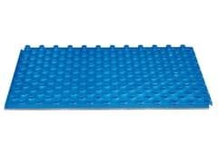 Pannello isolante per pavimento radiante passo tubazione 50 ISOLFLOOR PASSO 50 G -