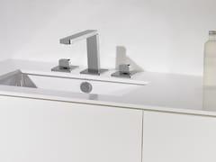 Rubinetto per lavabo a 3 fori in ottone cromato ITAP T6.12.3F | Rubinetto per lavabo - Itap