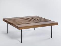 Tavolino da caffè quadrato in legno massello IZZY | Tavolino quadrato - Izzy