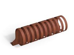 Portabici in acciaio Corten™JARDIN | Portabici - METALCO
