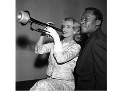 Stampa fotograficaJEANNE MOREAU E MILES DAVIS NEL 1957 - ARTPHOTOLIMITED