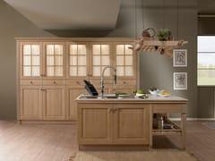 Cucina componibile in legno massello con isolaJENNY | Cucina con isola - GF FLORITELLI