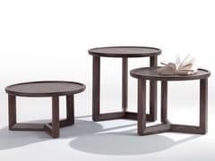 Tavolino rotondo in frassino JO-JO | Tavolino rotondo -