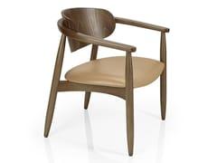 Sedia da ristorante in legno con braccioli JOANNA | Sedia da ristorante - Joanna