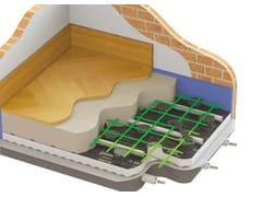 Sistema radiante a pavimento con pannello bugnatoJODO FLOOR SILENT30 - ATAG ITALIA