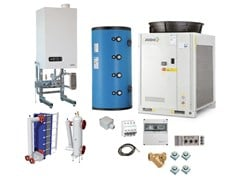 Sistema ibrido per riscaldamento e raffrescamentoJODO Hybrid One EASY HP - ATAG ITALIA