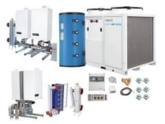Sistema ibrido per riscaldamento e raffrescamentoJODO Hybrid One EASY HP-MAX RS - ATAG ITALIA