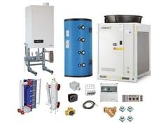 Sistema ibrido per riscaldamento e raffrescamentoJODO Hybrid One EASY HP RS - ATAG ITALIA