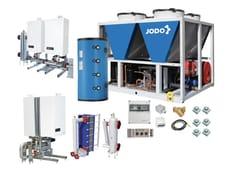 Sistema ibrido per riscaldamento e raffrescamentoJODO Hybrid One EASY HP VMAX RS - ATAG ITALIA