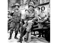 Stampa fotografica JOHN WAYNE - FILMING - THE LONGEST DAY - ARTPHOTOLIMITED