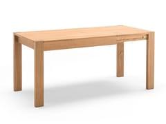 Tavolo allungabile da pranzo rettangolare in rovereJOLLY - ALTA CORTE