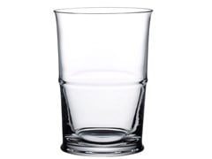 Set di due bicchieri in cristallo per acquaJOUR SHORT - NUDE GLASS