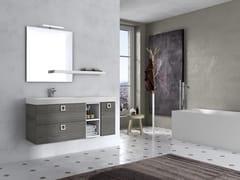 Mobile lavabo sospeso con specchioJUPITER 01 - BMT