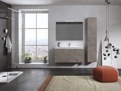 Mobile lavabo sospeso con specchioJUPITER 04 - BMT