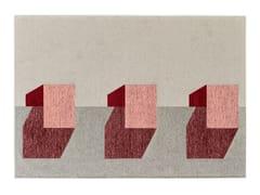 Tappeto rettangolare in ciniglia e cotoneJUT - CALLIGARIS