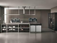 Cucina con isolaK-LAB | Cucina componibile - ERNESTOMEDA