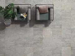 Pavimento antiscivolo ingelivo in gres porcellanato effetto pietra SOURCE SILVER - Source