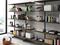 Libreria a giorno autoportanteKAFFEINA - STEELBOX BY METALWAY