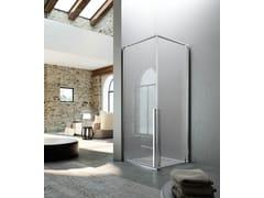 Glass1989, KAHURI KK Box doccia angolare con porta pivotante