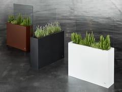Portavaso rettangolare in acciaioKAI - HOBBY FLOWER